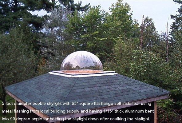 Lexan Skylights Manufactured By Ez Tops