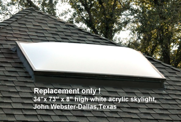 Dome Skylights Manufactured By Ez Tops